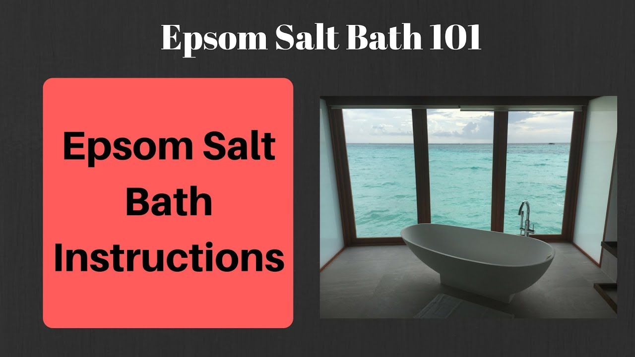 Amazing Benefits of Epsom Salt Baths [Cheap & Effective Remedy!]