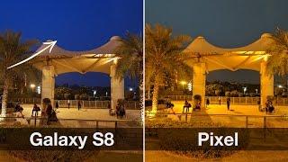 Samsung Galaxy S8 vs Google Pixel Camera Comparison