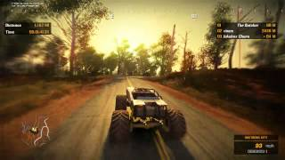 Fuel Gameplay (Crossroads race) How to win with a monster truck.