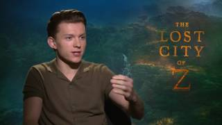 Tom Holland Talks Spider-Man, Infinity War & The Lost City of Z