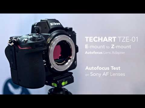Techart TZE-01 is the world's first Sony E to Nikon Z AF lens adapter