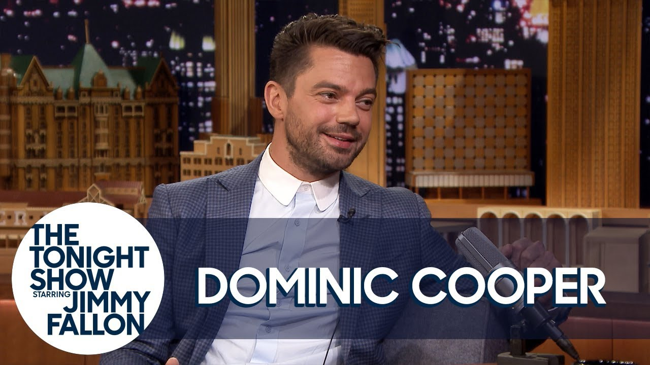 "Dominic Cooper's Emails Are All Sent from ""Stupid Poo"""