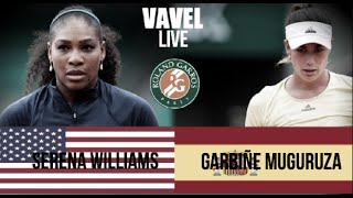 Garbine Muguruza VS Serena Williams Highlight 2016
