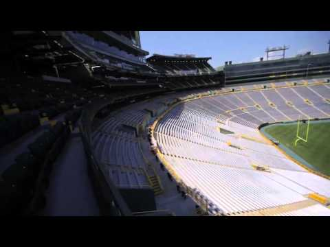 Raw video: Sneak peek of Lambeau Field's new 7,000-seat addition