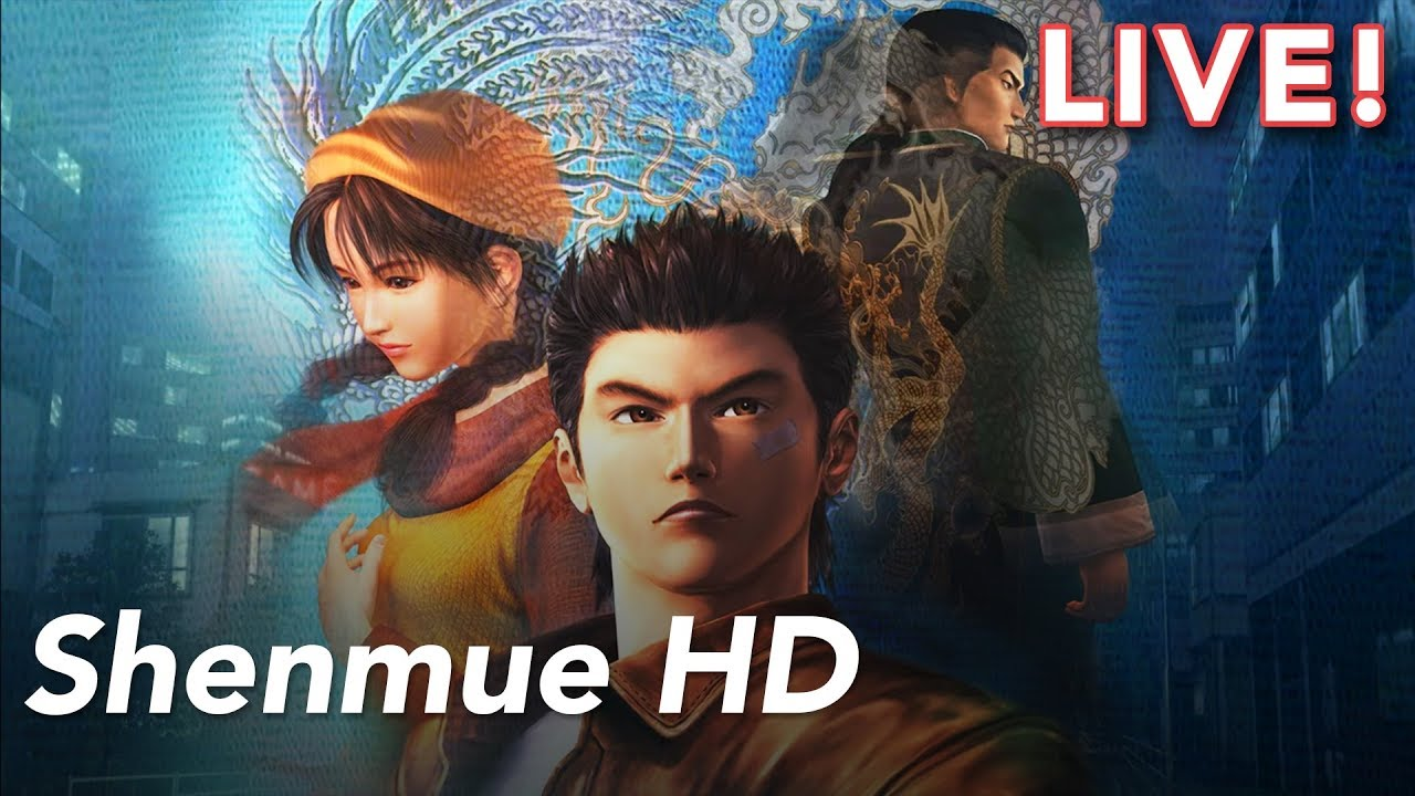 Shenmue HD with Heather and Tim!