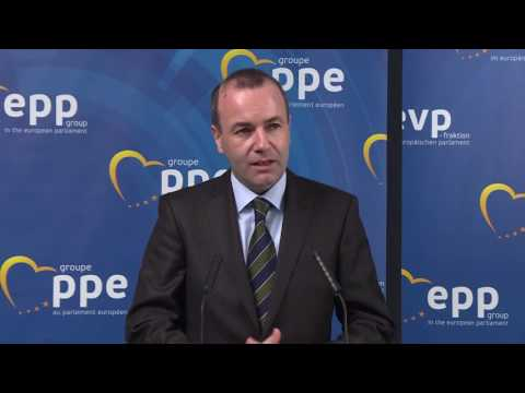 Manfred Weber on his reelection as Chairman of the EPP Group, 16.11.2016