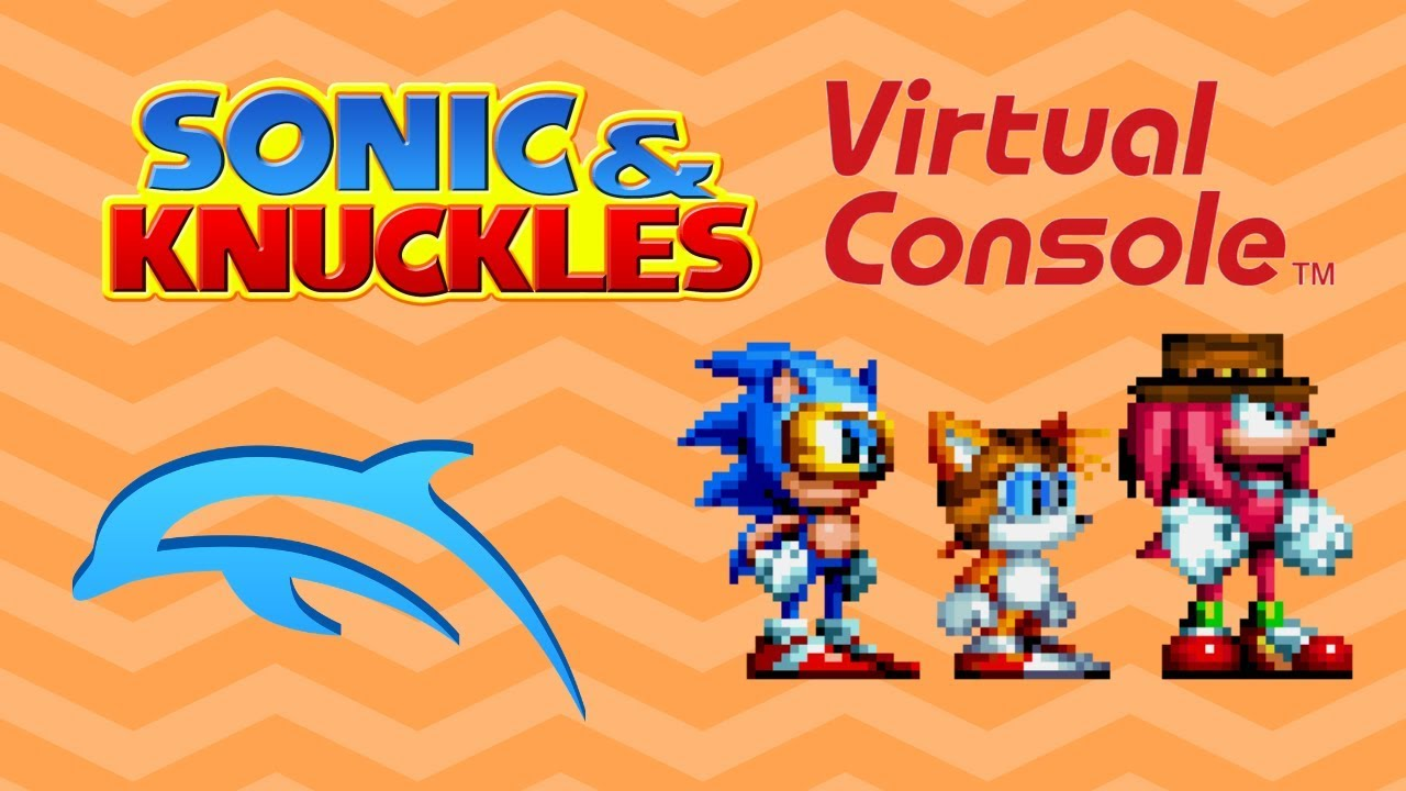Sonic & Knuckles (Virtual Console) - Low End Dolphin Gameplay