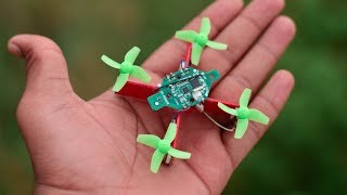 How to make a Drone that can fly  | DIY Mini Drone ( easy drone )