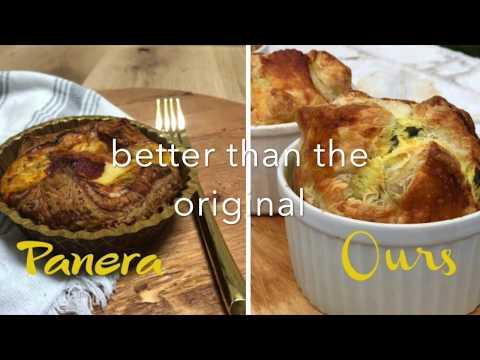 Copycat Panera Spinach and Artichoke Egg Souffles SO good!
