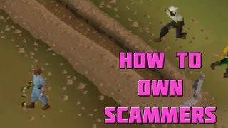 How to Mess With Scammers on OSRS