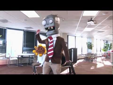 Zombie Temp Worker -- PopCap Olympics & Musical Chairs