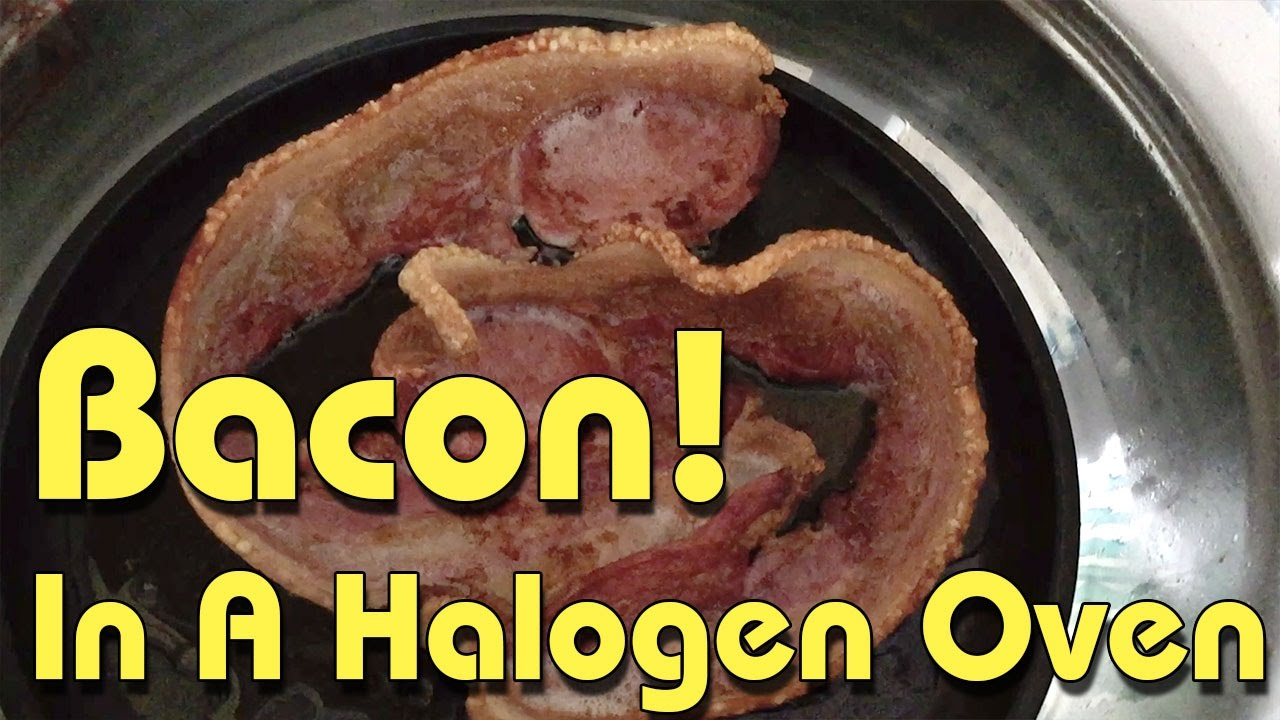 Cooking bacon in a halogen oven youtube cooking bacon in a halogen oven ccuart Gallery