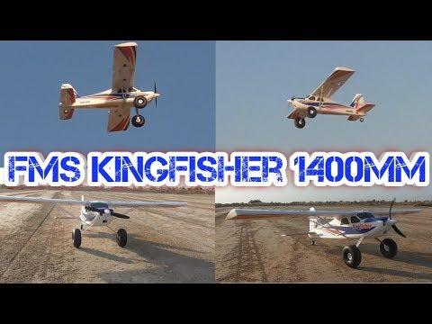 FMS Kingfisher 1400mm RC Plane Test Flight