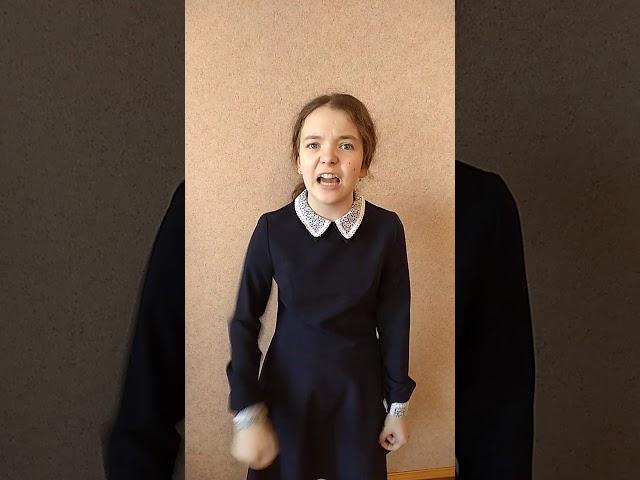 Изображение предпросмотра прочтения – УльянаЗагрекова читает отрывок изпроизведения «Тарас Бульба» Н.В.Гоголя