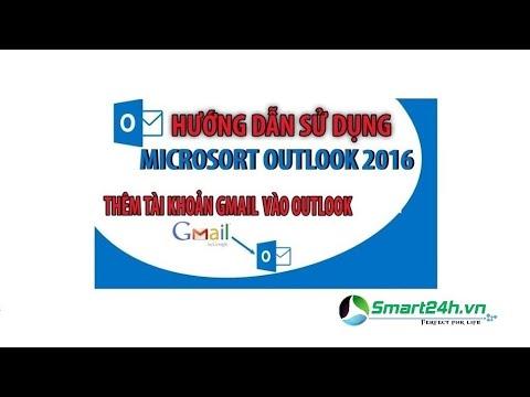 Hướng dẫn cài đặt Outlook 2016 và một số mẹo khi dùng Outlook