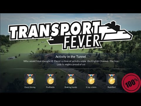 Transport Fever - Europe - 07 - English Channel - Step by Step Walkthrough