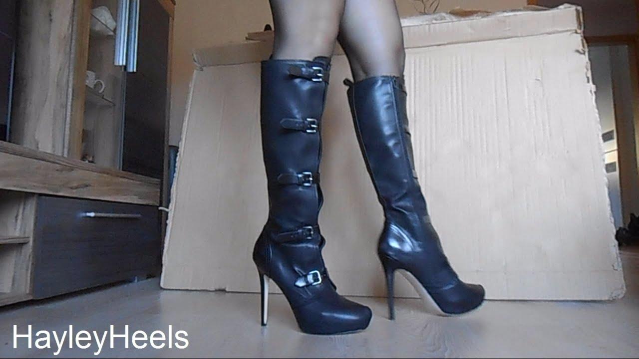 Meine Stiefel! Leck