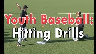 Coaching Youth Baseball: Hitting Drills