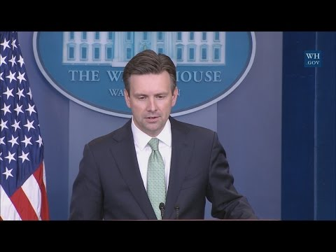 11/9/16: White House Press Briefing