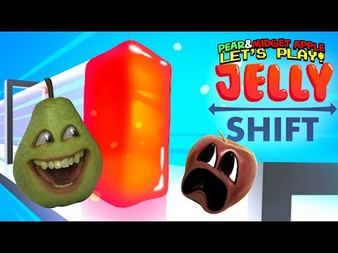 Pear & Midget Apple LIVE THE JELLY LIFE!!! | Jelly Shift