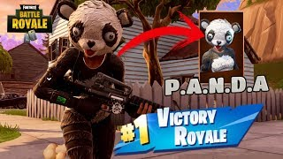 KUNG FU P.A.N.D.A at ACCION! *NEW* LEGENDARY SKIN Fortnite: Battle Royale