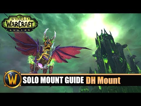 Telars Solo Mount Guide #53 Demonhunter Class Mount (7.2.5)