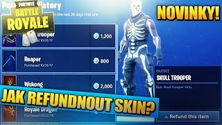 HOW TO REIMBURSE A SKIN? MORE NEW SKINS! | Fortnite Battle Royale News #6 [EN/English]