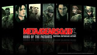 Metal Gear Solid 4 - The Movie [HD] Полный фильм