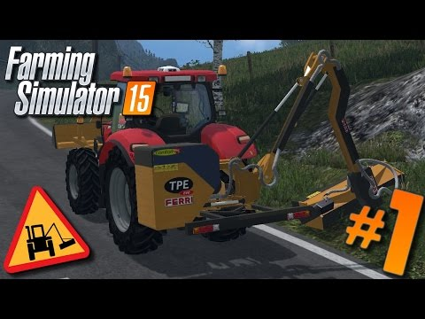 Farming Simulator 15 | Entretien Communal #1 : Présentation des mods et éparage !