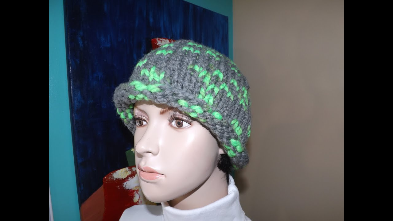 61da617cb How to Knit a Hat With Circular Needles