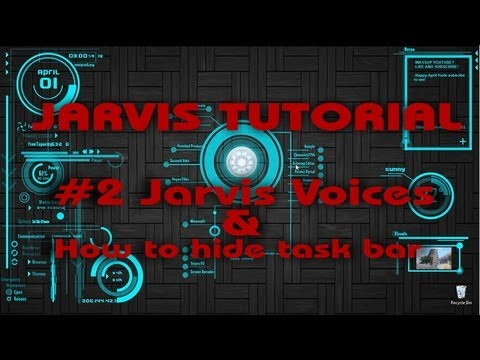 [Windows 7&8] How to add the Jarvis Voice to your pc!