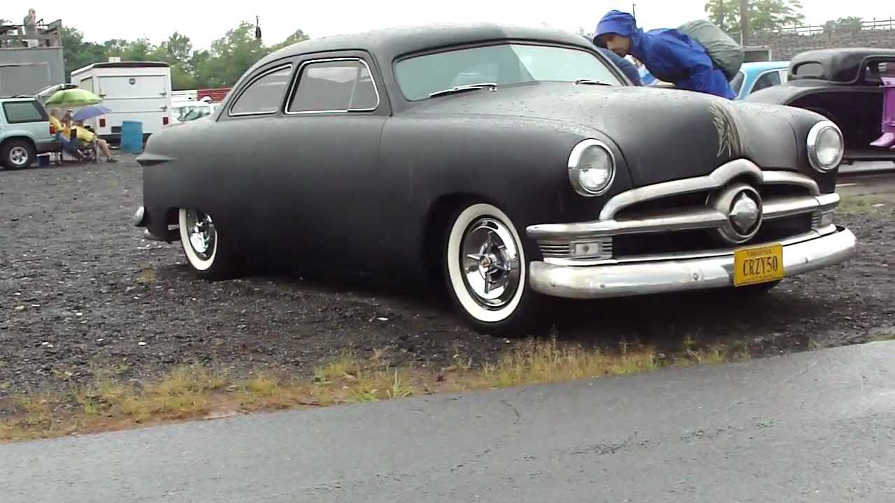 50 Ford Low Rider Custom Chopped Dropped Lead Sled