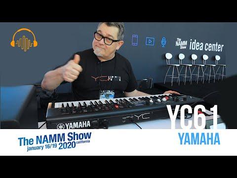 NAMM 2020 - YC61 61-Key Organ Stage Keyboard by YAMAHA