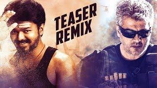 Mersal   Vivegam   Teaser Remix   Vijay   Ajith kumar
