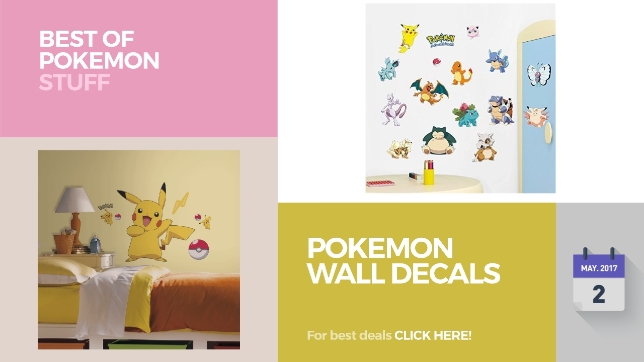 Pokemon Wall Decals Best Of Pokemon Stuff