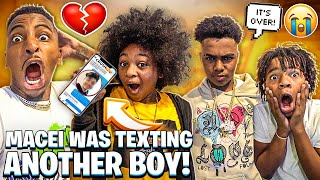 BAM CANT GO ON A DATE WITH MYA & MACEI WAS TEXTING ANOTHER BOY!💔