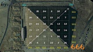 Part 2 - 666 Magic Square of the Sun (Revelation 13 M)