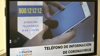 Murcia crea un teléfono de información de coronavirus
