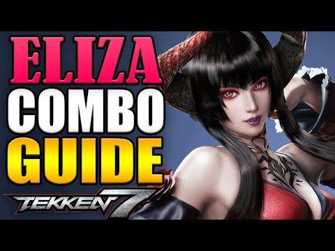 Eliza Combo Guide - Tekken 7 - Easy to Advanced!