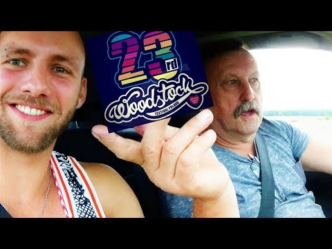 Hitchhiking To WOODSTOCK FESTIVAL - From Denmark To Poland In 13 Hours