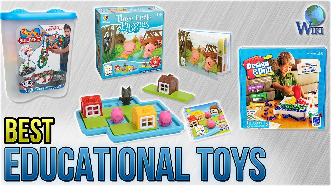 10 Best Educational Toys 2018 - YouTube
