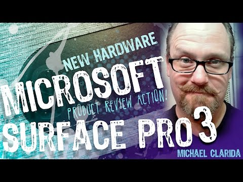 Surface pro 3 product review for artists!!! New hardware.