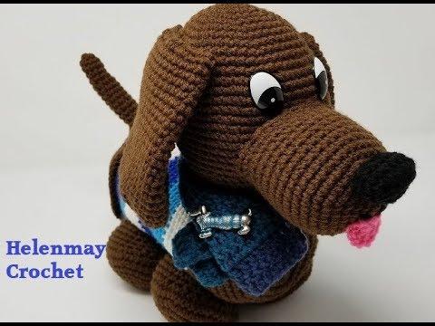 Mini Schnauzer Crochet Pattern Ideas Video Tutorial | 360x480