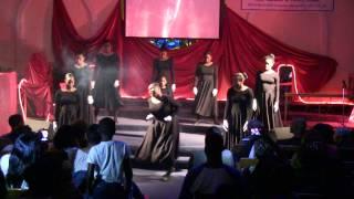 Juanita Bynum Fire praise dance
