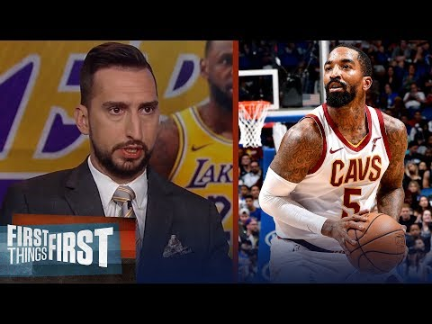Lakers should absolutely sign J.R. Smith over Dion Waiters — Nick Wright | NBA | FIRST THINGS FIRST