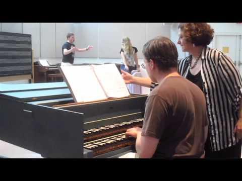 Performing opera at Princeton