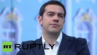 LIVE: Tsipras to speak at