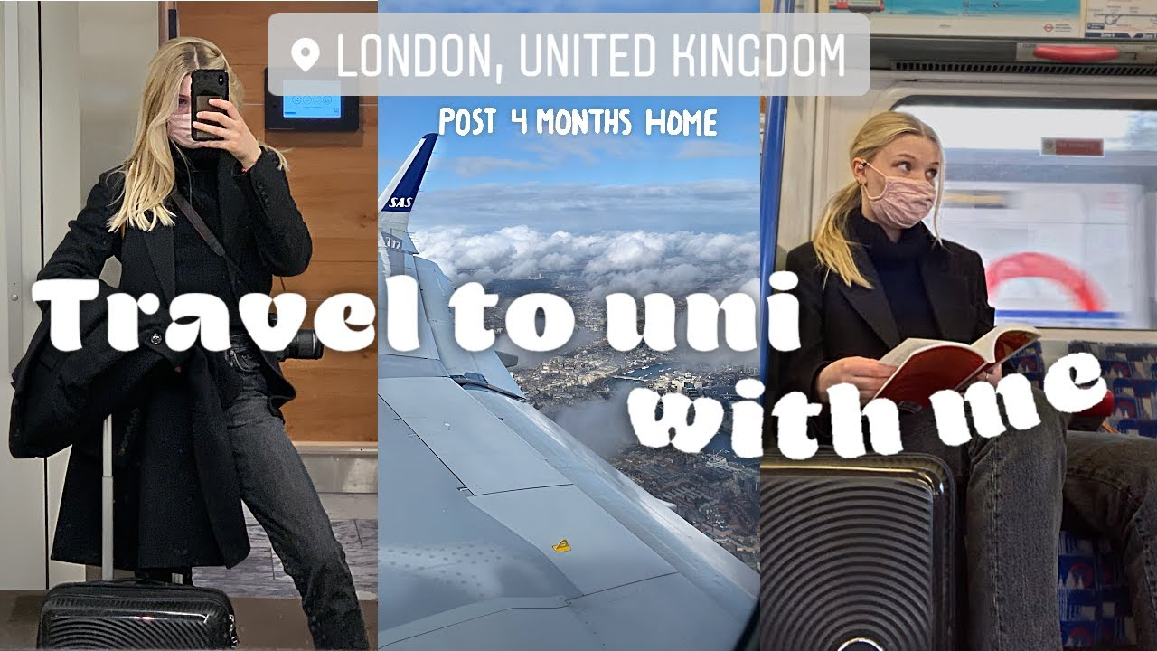 Travel ✈️Back to my London University with Me! 2021 edition...