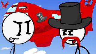 Infiltrating the Airship Stickman Gameplay - Henry Stickman infiltrates the Airship