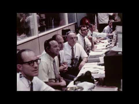 Apollo Mission Control Media B roll